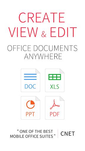 WPS Office for Android - Tổng hợp 5 ứng dụng hay và miễn phí trên Android ngày 09.4.2017