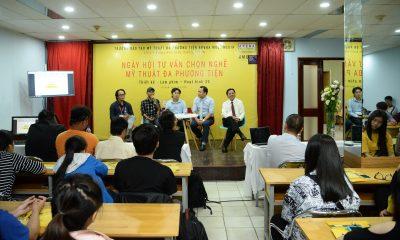 arena multimedia 8 400x240 - Arena Multimedia tổ chức ngày hội tư vấn ngành mỹ thuật đa phương tiện