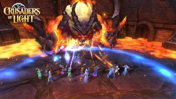 crusaders of light android ios mmo world of warcraft 600x338 - Mời trải nghiệm Crusaders of Light - MMORPG 3D phong cách WoW chất lừ
