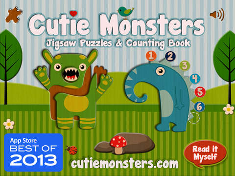 cutie monsters jigsaw ios - Tổng hợp 25 ứng dụng hay và miễn phí trên iOS ngày 6.4.2017