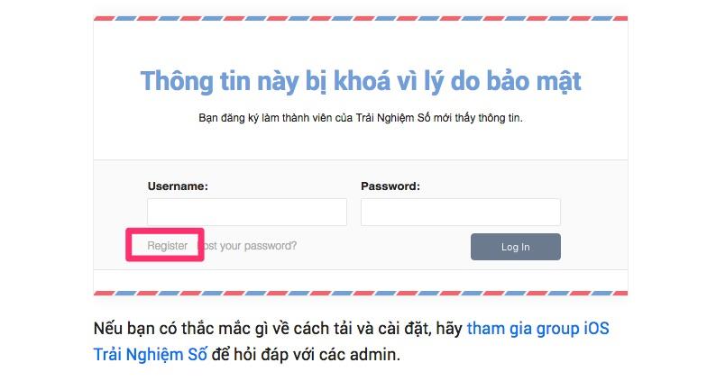 dang ky thanh vien trainghiemso 1 - Cách đăng ký thành viên của Trải Nghiệm Số để tải app bản quyền