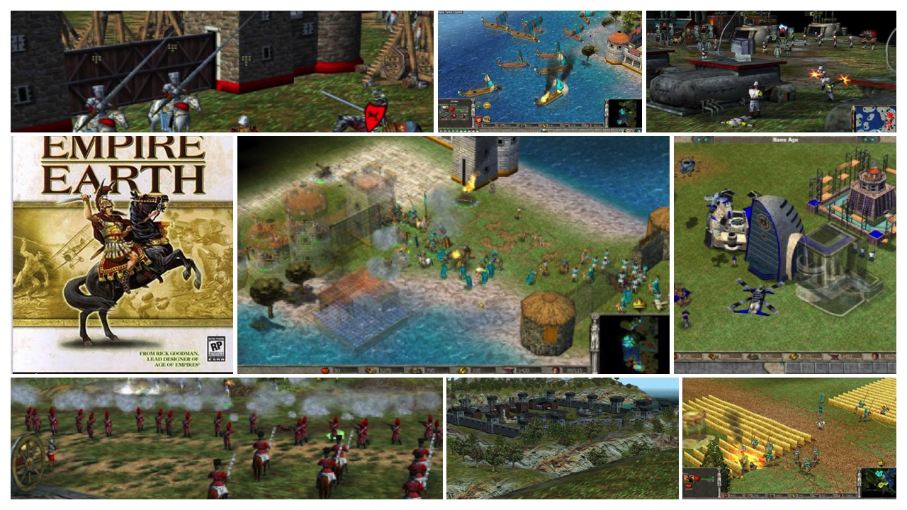 empire earth featured - [Game cũ mà hay] Empire Earth