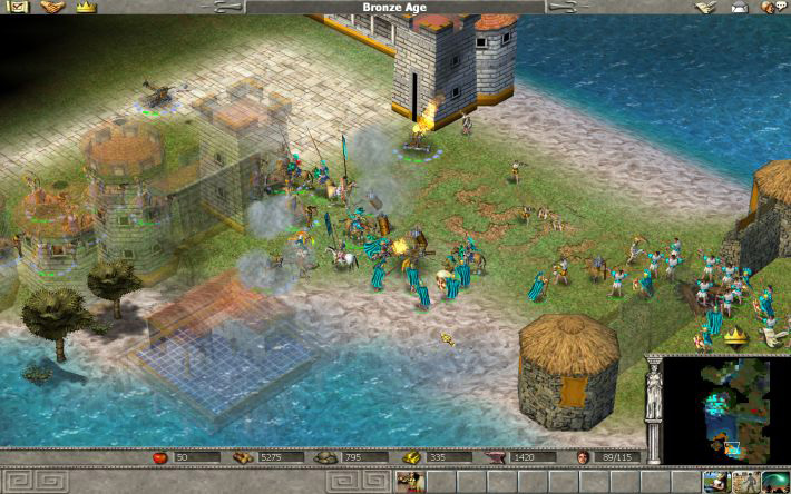 empire earth gold edition 5 - [Game cũ mà hay] Empire Earth