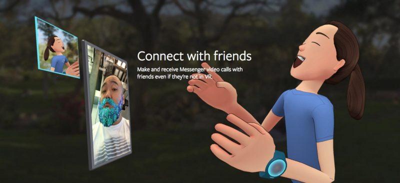 """facebook spaces 5 800x366 - Facebook Spaces: khi mạng xã hội """"chạm ngõ"""" thực tế ảo"""