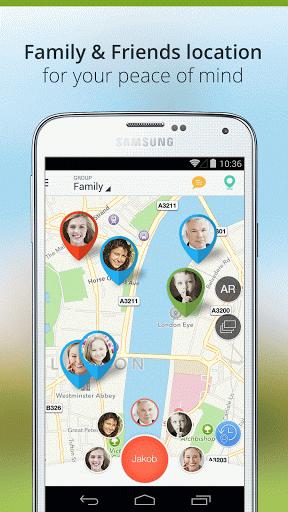 family location for android - Tổng hợp 5 ứng dụng hay và miễn phí trên Android ngày 08.4.2017