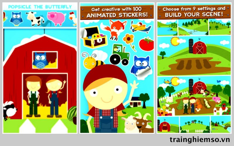 farm story maker ios 800x500 - Tổng hợp 26 ứng dụng hay và miễn phí trên iOS ngày 13.4.2017