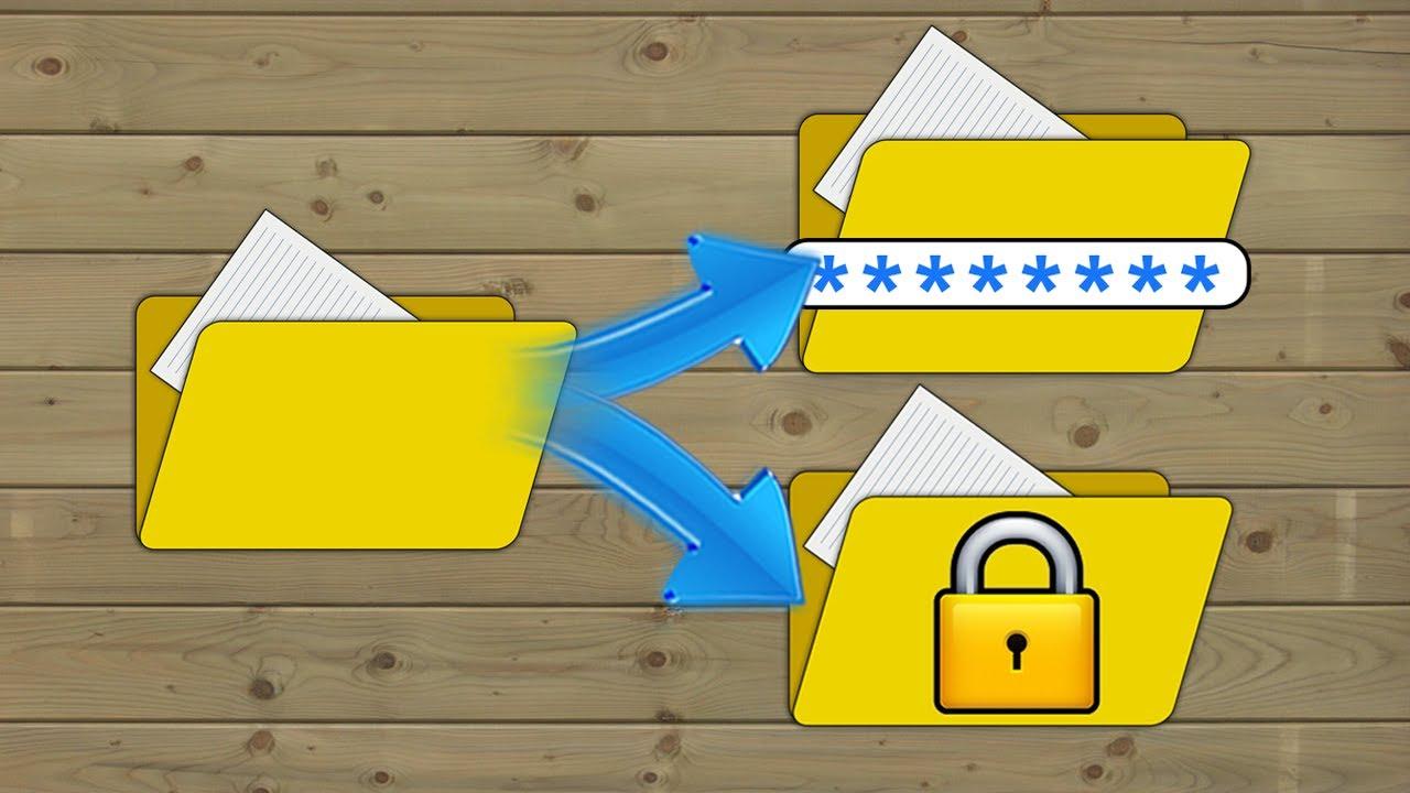 Thủ thuật tạo mật khẩu cho file trên máy tính