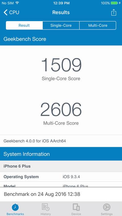 geekbench 4 ios - Tổng hợp 19 ứng dụng hay và miễn phí trên iOS ngày 2.4.2017