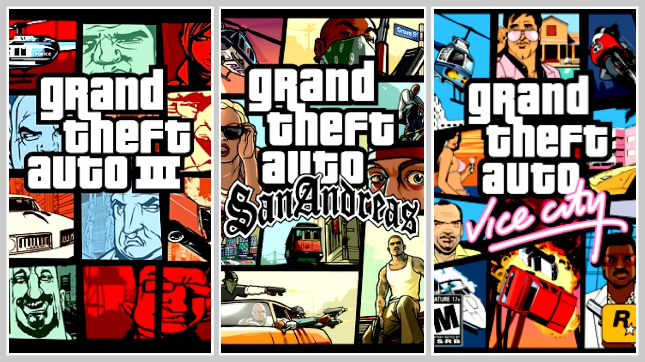 gta bundle featured - Cuối tuần tặng bạn bộ ba game Grand Thief Auto nổi tiếng