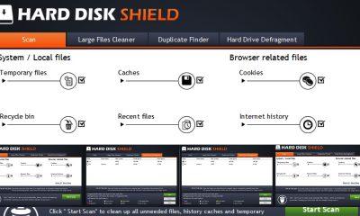 hard disk shied featured 400x240 - Ứng dụng dọn dẹp đĩa cứng máy tính trị giá 39,99USD đang miễn phí