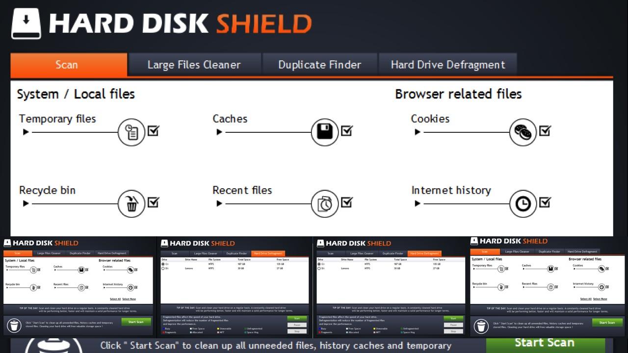 hard disk shied featured - Ứng dụng dọn dẹp đĩa cứng máy tính trị giá 39,99USD đang miễn phí
