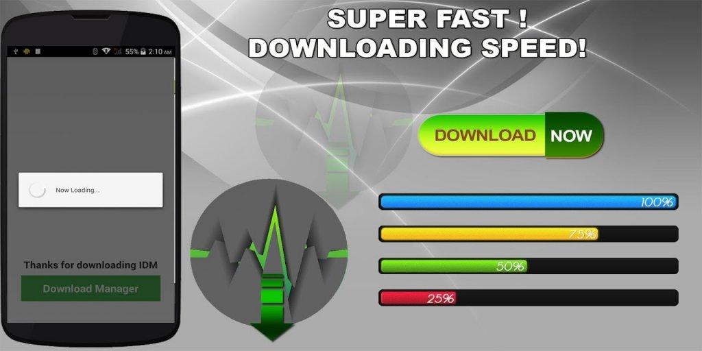 Phần mềm hỗ trợ download tập tin mạnh mẽ như IDM cho Android