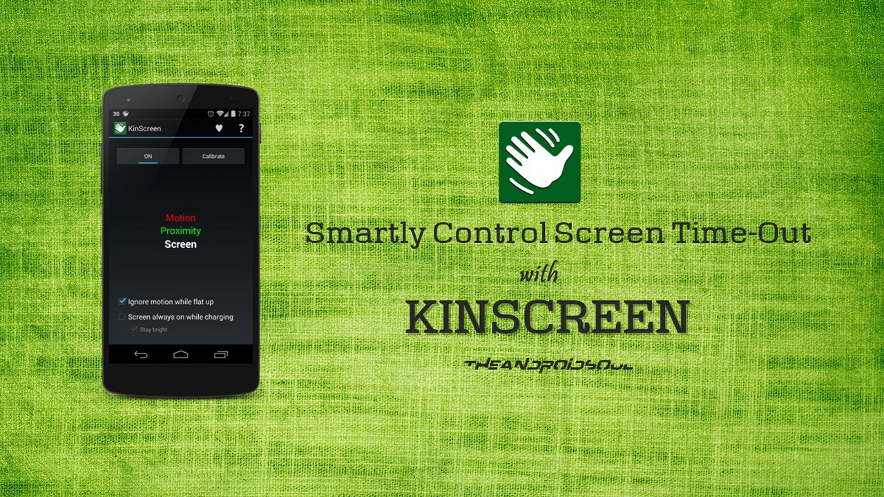 kinscreen smart control screen Featured - Tự động hóa tác vụ tắt/mở màn hình điện thoại