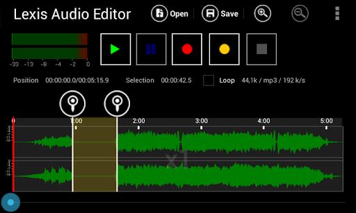 lexis audio editor for android - Tổng hợp 5 ứng dụng hay và miễn phí trên Android ngày 13.4.2017
