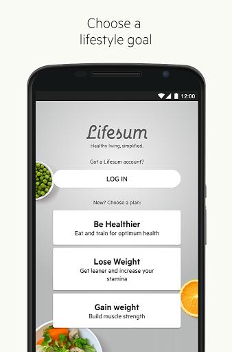 lifesum for android - Tổng hợp 5 ứng dụng hay và miễn phí trên Android ngày 02.4.2017
