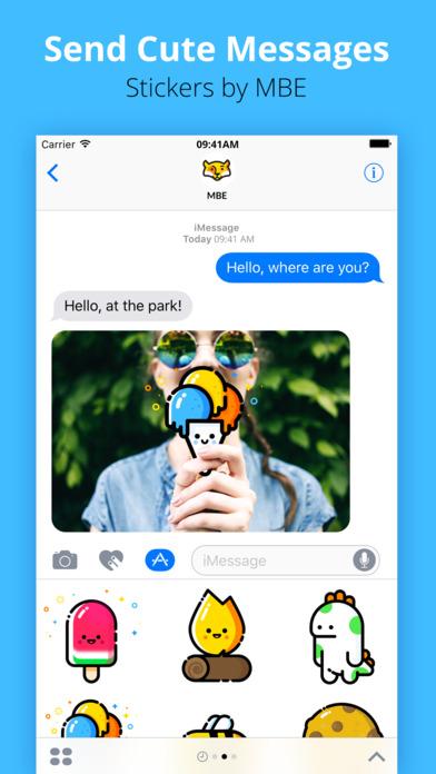 mbe stickers 2 ios - Tổng hợp 28 ứng dụng hay và miễn phí trên iOS ngày 11.4.2017