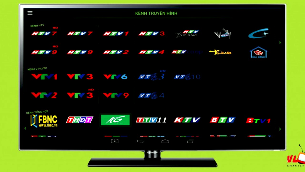 Phần mềm xem tivi trên điện thoại Android dễ dàng và miễn phí