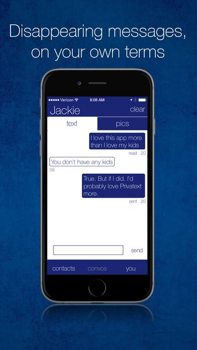 pritvate text ios - Tổng hợp 45 ứng dụng hay và miễn phí trên iOS ngày 09.4.2017
