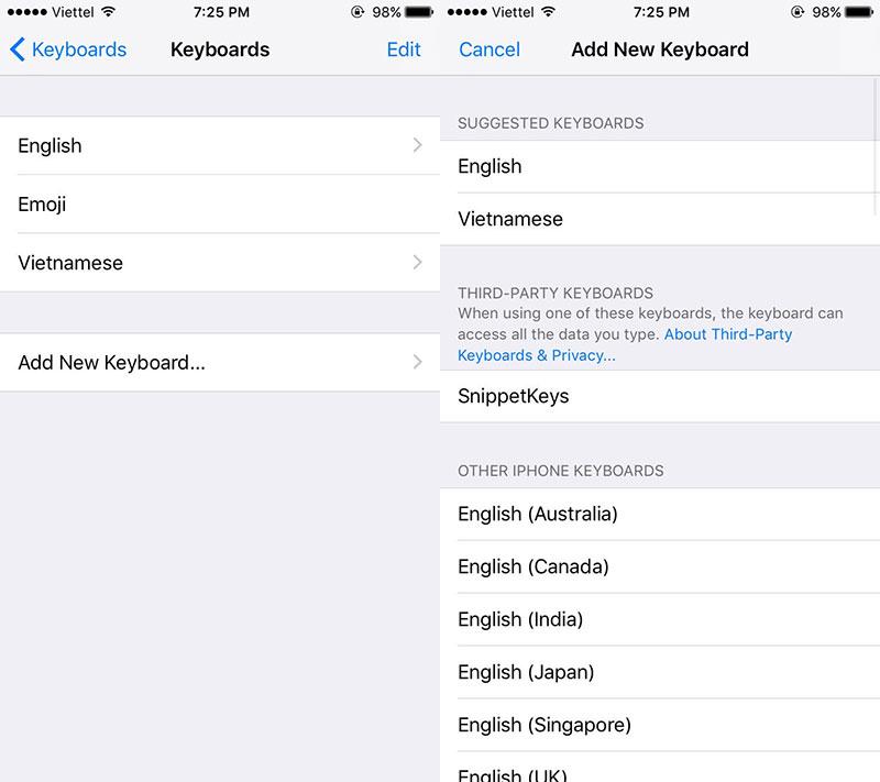 snippetkeys 03 - SnippetKeys: Bàn phím gõ tắt cực nhanh cho iOS