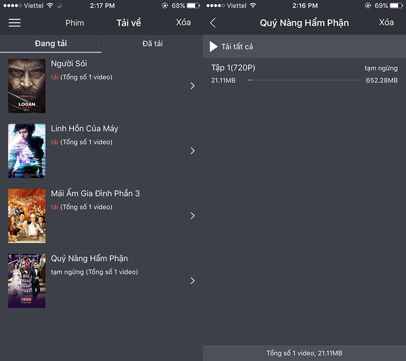 theonetv 02 - theOne TV: Kho phim mới miễn phí trên iPhone/iPad