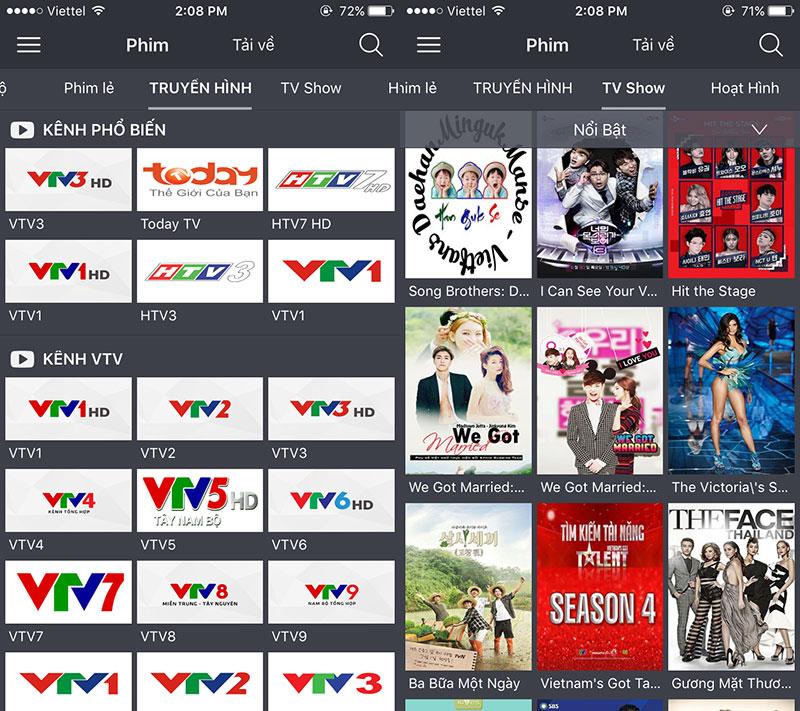theonetv 04 - theOne TV: Kho phim mới miễn phí trên iPhone/iPad