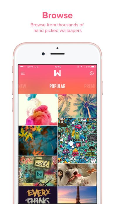 wallz ios - Tổng hợp 19 ứng dụng hay và miễn phí trên iOS ngày 19.4.2017