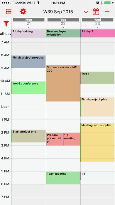 week calendar pro ios - Tổng hợp 29 ứng dụng hay và miễn phí trên iOS ngày 18.4.2017