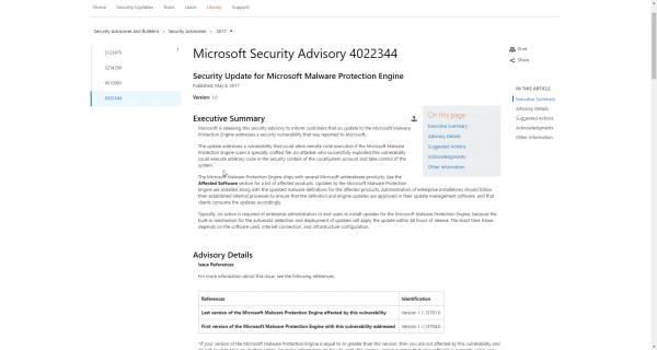 2017 05 09 15 31 32 600x320 - Cập nhật ngay bản vá lỗ hổng bảo mật nghiêm trọng trên Windows Defender