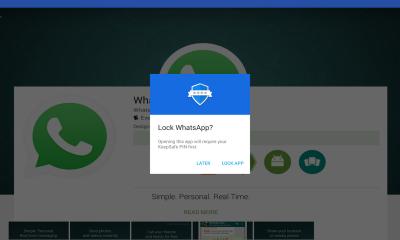 Material Lock App Security 400x240 - Khóa ứng dụng trên Android tự động bằng SMS