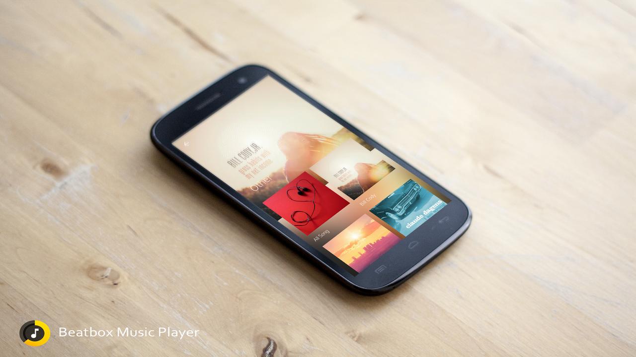 Beatbox Music Player: Trình phát nhạc hiện đại và nhỏ gọn cho Android