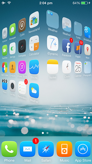 cylinder - Top 20 tweak hay nhất cho iOS 10 - iOS 10.2