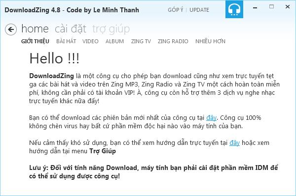 Tải nhạc, video chất lượng cao tại Zing MP3, NhacCuaTui quá dễ 1