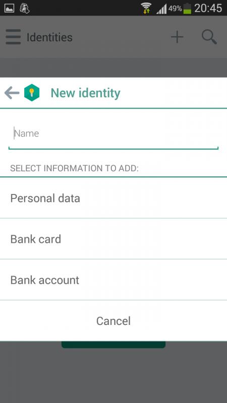Lưu giữ an toàn mật khẩu, tài khoản web trên smartphone