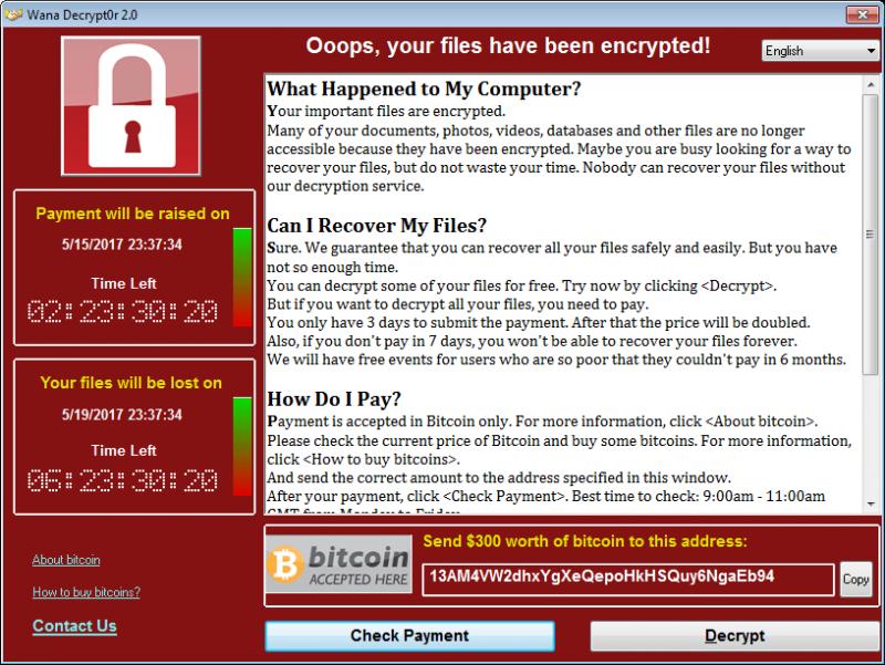 image003 6 800x601 - Làm sao để biết máy tính của bạn có an toàn trước WannaCry?
