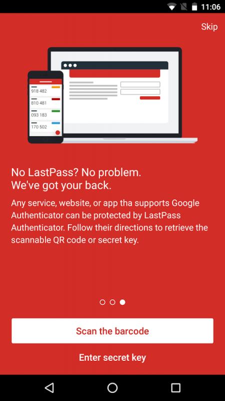 image005 9 450x800 - LastPass Authenticator: Ứng dụng tạo mã xác thực hai lớp có hỗ trợ sao lưu
