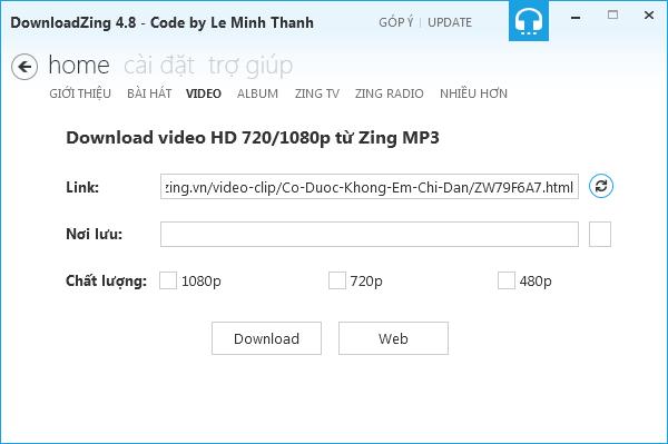 Tải nhạc, video chất lượng cao tại Zing MP3, NhacCuaTui quá dễ 3