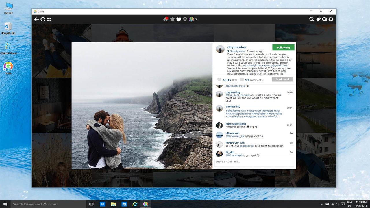 InstaGet Universal - Vừa duyệt vừa tải ảnh và video trên mạng xã hội Instagram