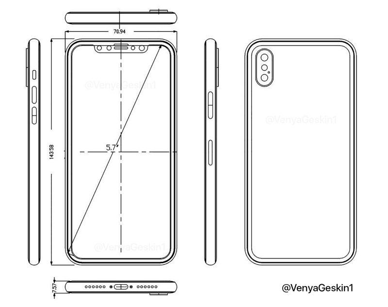iphone chi tiet 800x632 - iPhone 8 lộ diện gần như hoàn toàn qua hình ảnh và video
