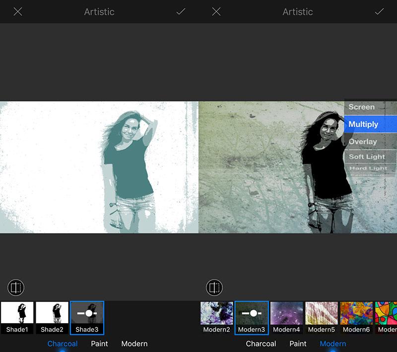 lightx artistic - LightX: Sửa ảnh chuyên nghiệp trên iOS