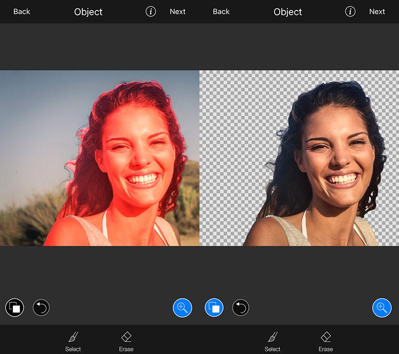 lightx cutout 01 - LightX: Sửa ảnh chuyên nghiệp trên iOS