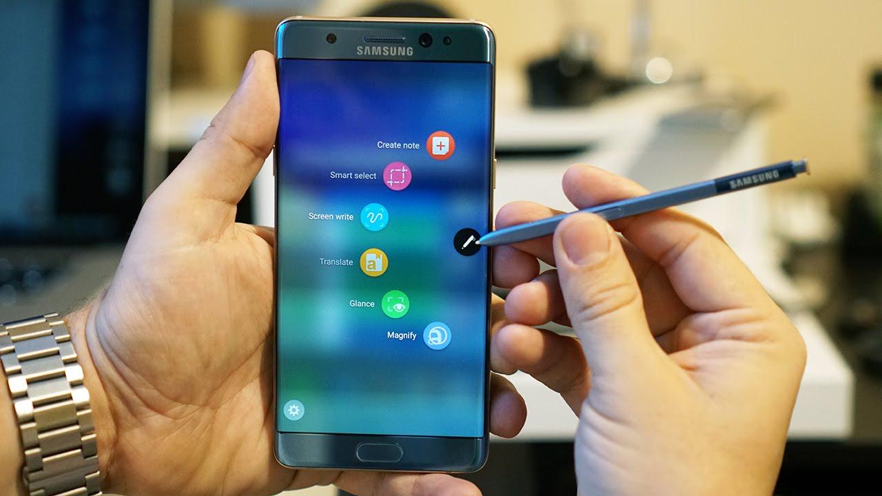 Galaxy Note 7 tân trang sẽ không được phân phối chính hãng tại Việt Nam