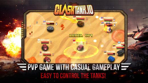 screen520x924 1 - Game bắn xe tăng cổ điển Clash Tank.io cho phép bạn xưng top thế giới