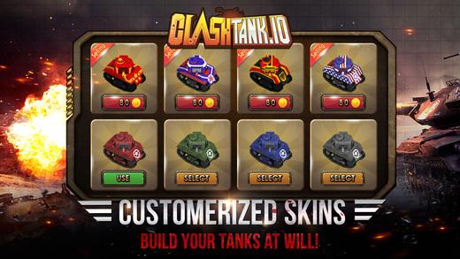 screen520x924 2 - Game bắn xe tăng cổ điển Clash Tank.io cho phép bạn xưng top thế giới