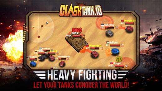 screen520x924 3 - Game bắn xe tăng cổ điển Clash Tank.io cho phép bạn xưng top thế giới