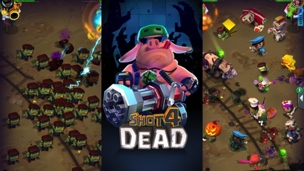 Mời trải nghiệm Shot 4 Dead - game bắn súng giải trí mới nhất của VNG