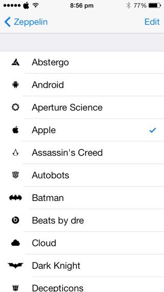 zeppelin - Top 20 tweak hay nhất cho iOS 10 - iOS 10.2