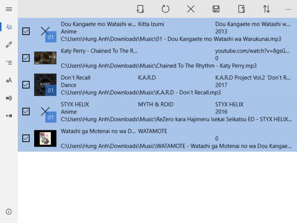 phần mềm chỉnh sửa thông tin file nhạc