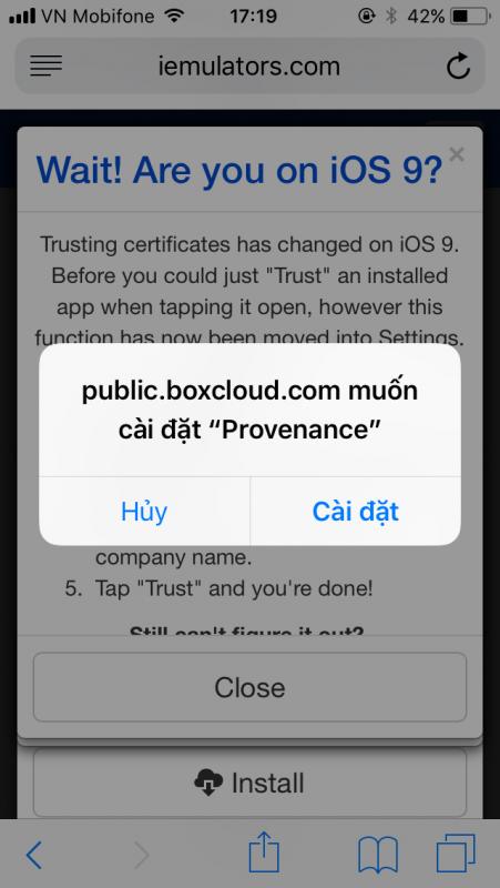 IMG 0199 451x800 - Cách cài giả lập SNES lên iOS 10 và iOS 11 không cần jailbreak