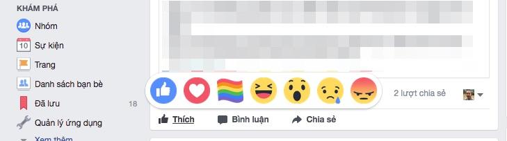 Cách thêm biểu tượng cảm xúc Tự hào trên Facebook 2