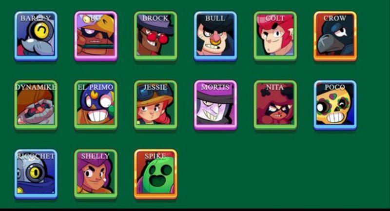 brawl stars characters 800x433 - Brawl Stars: tựa game mới toanh của Supercell sau Clash Royal